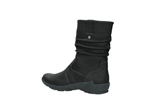 Wolky Comfort Stiefel Luna WP 11002 schwarz Nubuk / Water Proof Warmfutter
