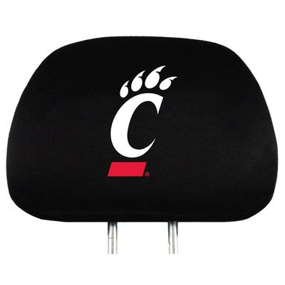 Covers Ncaa Headrest (NCAA Cincinnati Bearcats Head Rest Cover, 2-Pack)