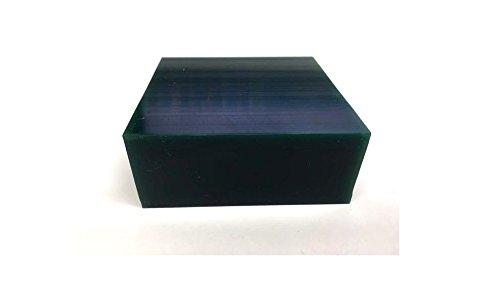 """Matt Carving Wax CA-2755 1/2 lb Block 3 1/2"""" x 3 1/2"""" x 1-1/8"""" Color Green"""