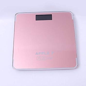 MINMINA Báscula de Escala de Peso Corporal Recargable USB Escala de Peso Humano Saludable Escala de pesaje de pérdida de Peso de la Salud en el hogar, ...