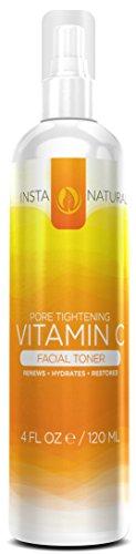 Витамин C Тоник для лица - 100% Натуральная и органическая Anti Aging лица с тонером гамамелиса, алоэ вера, МСМ и многое другое - питает и увлажняет кожу глубоко - подготавливает поры для сывороток и увлажняющие крема -имеет мощных вяжущими свойствами - В
