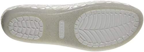 With Crocs Ballerine Glitter Oyster Multicolore Donna Isabellajlyfltw pxzwr6xqX