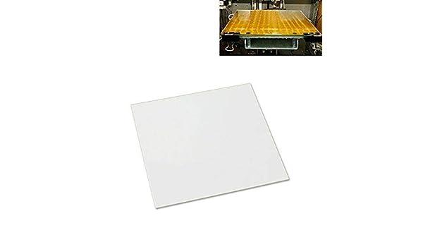 Placa de cristal de borosilicato para impresoras 3D, 300 mm x 300 ...