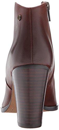 Delle 206 Tacco Pelle Collettivi In Cognac Alla Alto Caviglia Donne Bootie Everett 8qz78R6A