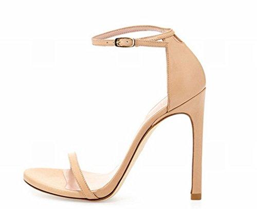 Finas Con Zapatos Sandalias Hebillas Do Ly Femeninas Yl Tacón Alto De TqwzHHXx5
