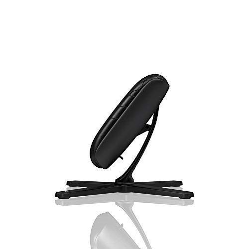 noblechairs Footrest for Gaming Chair - Office Chair - Real Leather - Footrest - Practical Adjustment - 360° Rotatable - 57° Tiltable - Black by noblechairs (Image #5)