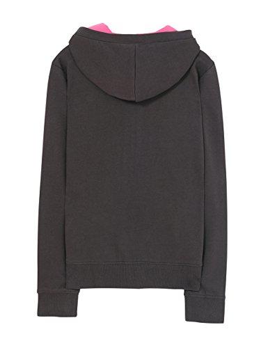 2006 dragon Fille Shirt Sweat Oscuro Gris gris Desigual vqPZw