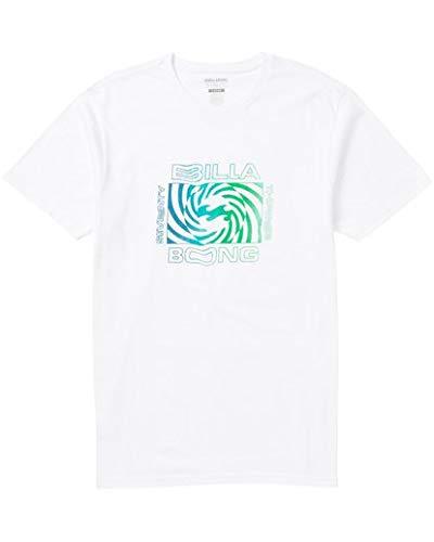 Billabong Men's Graphic T-Shirts, White, L