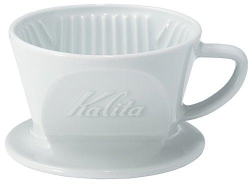 드립커피 Kalita 칼리타 커피 드립퍼 자기제 하사미소 1~2명 용 HASAMI & Kalita HA101 #01010