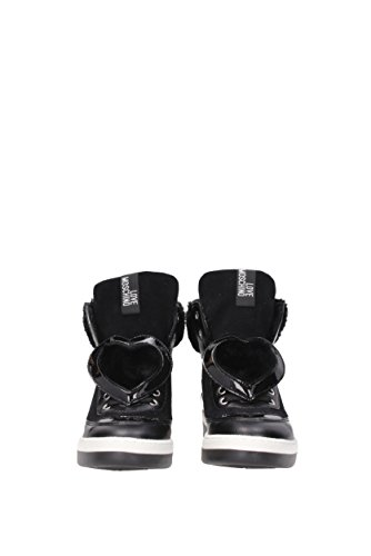 Gamuza Negro Sneakers Mujer Love EU Moschino JA15343G04JJ1 wpZAaqtZ