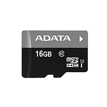 ADATA 32 GB Micro SDHC Card Class 10 with SD Adaptor AUSDH32GCL10-RA1