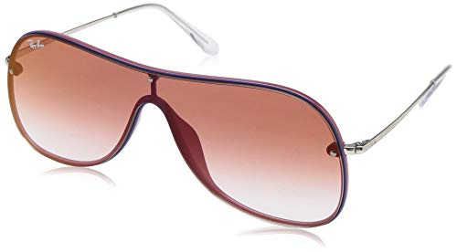 Ray-Ban Rb4311n Aviator Sunglasses, Bordeaux on Top Blue, 38 mm (Preis Ray-ban)