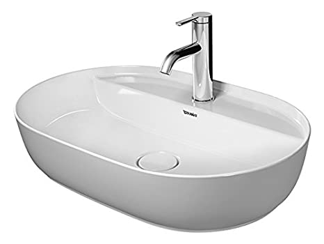 Lavelli Cucina Ceramica Duravit.Duravit 0380600000 Lavabo Per Bagno Lavello Montato Su Piano