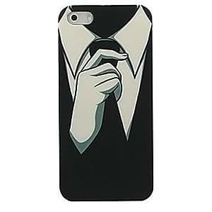 HC- tirar caso duro del patrón de empate para el iphone 4 / 4s