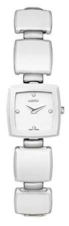 ROAMER OF SWITZERLAND Damen-Armbanduhr Ceraline CarrÉ Analog Quarz 672953 91 29 60