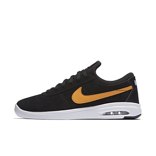 Nike SB AIR MAX BRUIN VAPOR Herren Skateboardschuhe 882097-081_8 - SCHWARZ / CIRCUIT ORANGE-WHITE-BLACK