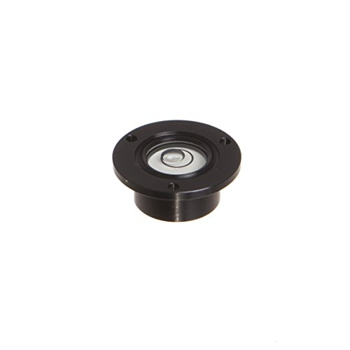 J.W. Winco GN2277 Aluminum Bulls Eye Level with Mounting Flange for Inserting (Collar Type), 18mm (2277-ALS-30-K-30-B) (Aluminum Mounting Flange)