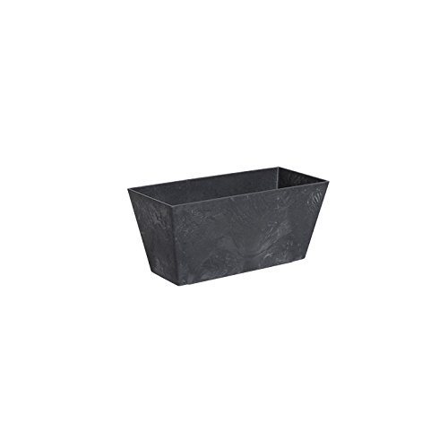 ArtStone 36148, Black, (Lies Between 14 inch to 14.5-Inch) Ella Flower Box ()