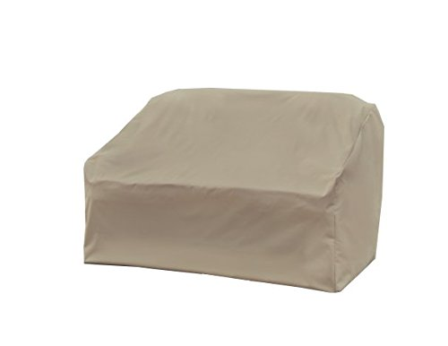 Two Seat Lounge Bench - Modern Leisure Love Seat Cover, Weather & Waterproof Love Seat Cover