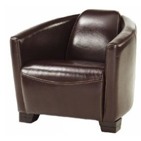 laxton brown leather rocket chair quality tub chair amazon co uk
