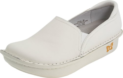 Alegria Women's debra Slip-On,White Napa,41 EU/10.5 M ()