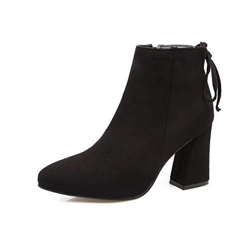 Balamasaabl09710 - Sandales Compensées Pour Femmes, Noir (noir), 35 Eu