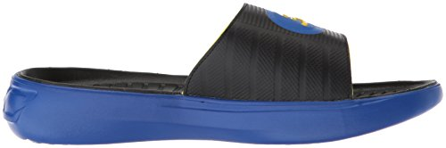 Under Armour Mens Curry Iv Slide Team Royal / Nero / Taxi