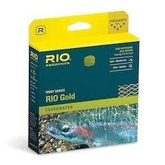 RIO Gold Floating Fly Line (WF4F), Moss/Gold