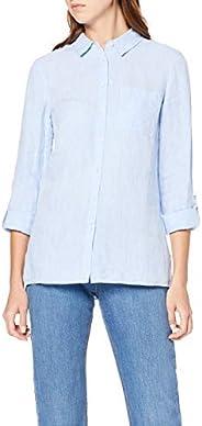 Amazon Brand - Meraki Women's Long Sleeve Linen S