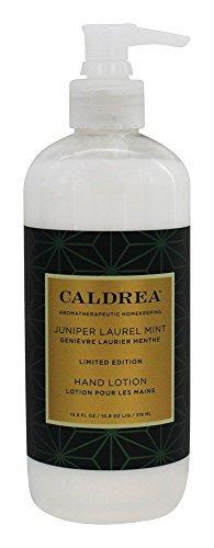 Caldrea Hand Lotion, Juniper Laurel Mint, 10.8 Fluid Ounce ()