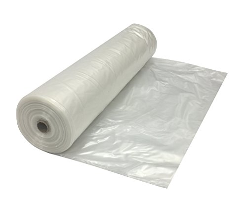 Clear Plastic Poly Sheeting 20' x 100' 4 mil by TheSafetyHouse