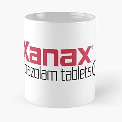 Xanax Logo Drug Drugs - Morning Coffee Mug Ceramic Novelty Holiday 11 Oz