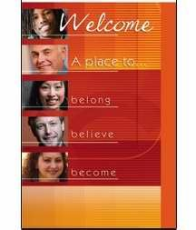 Welcome Folder-Place To Belong Believe Become