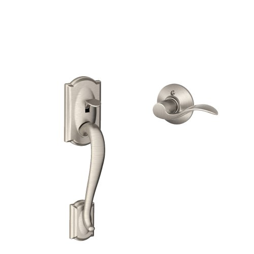 Handle Accent Left-Handed Interior Lever (Satin Nickel) FE285 CAM 619 ACC LH ()