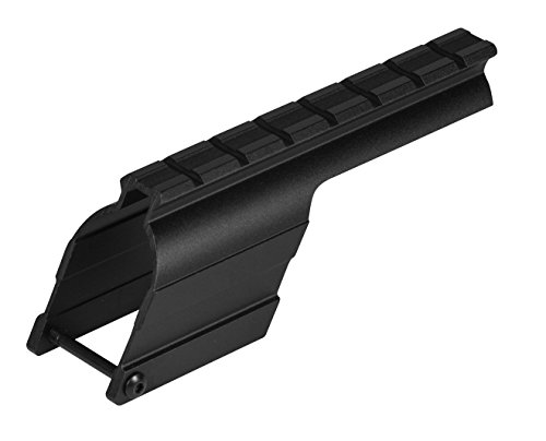 B-square Shotgun Mount - B-Square Mossberg Maverick 91, 12 Gauge Shotgun Saddle Style Mount, Matte Black Finish