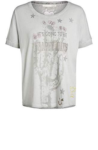 Para Manga Mujer Paloma Camiseta Corta Oui Clásico nqWIEnv