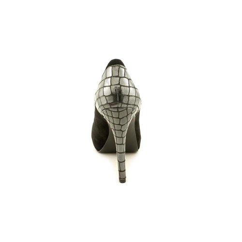 Carlos Falchi Giselle Womens Heels Black Multi Storlek 8 Oss
