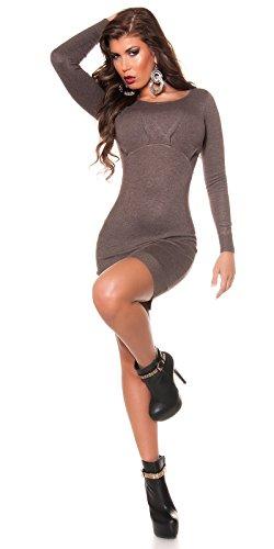 KouCla - Vestido - para mujer 5 Braun