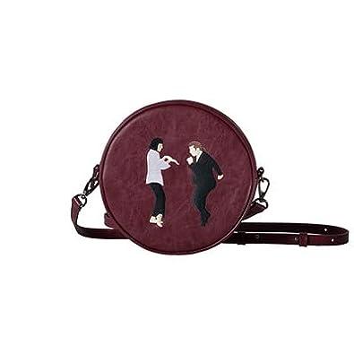 bd7a47c331d Kiitos Life Circular PU messenger bags for girls original designed in  2styles(FUN KIK)