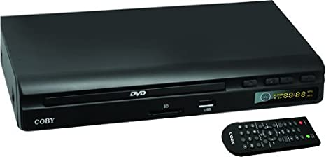 Coby CDV-30 2.0 CHANNEL DVD PLAYER WITH USB INPUT Portable Media Players at amazon