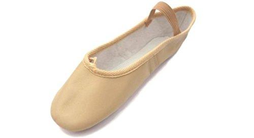 Roch Valley Ophelia exterior de piel suela zapatos de Ballet Pale Pink