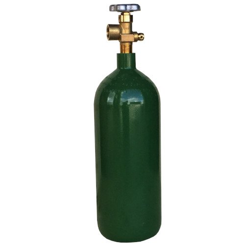 - 20 cf Cylinder for Argon Nitrogen Argon/CO2 Helium w/