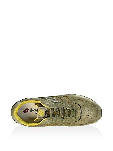 B6738 Man Verde Tokyo Shibuya Leggenda Sneaker Lotto Verde Oliva Uomo Shoe marrone Scarpa rOCqw4rR