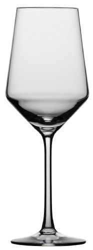 Schott Zwiesel Tritan Crystal Glass Pure Stemware Collection Sauvignon Blanc/Rose/Tasting, White Wine Glass, 13.8-Ounce, Set of 6 - Blanc Set