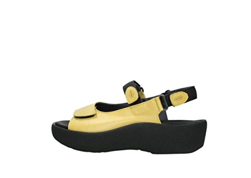 Leather Wolky Womens 3204 Yellow Jewel Sandals qRnx61760P