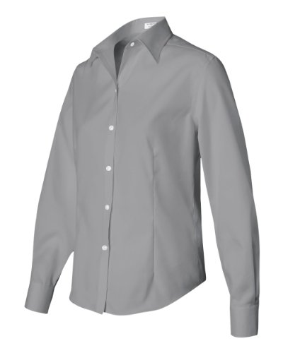 d637dc2da Van Heusen 13V0144 Womens Wrinkle-Free Cotton Pinpoint - French Grey -  XX-Large - Buy Online in Oman. | Apparel Products in Oman - See Prices,  Reviews and ...
