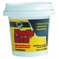 Dap 21400 Light Oak Wood Dough Filler, 1/4-Pound (Oak Plastic Wood)