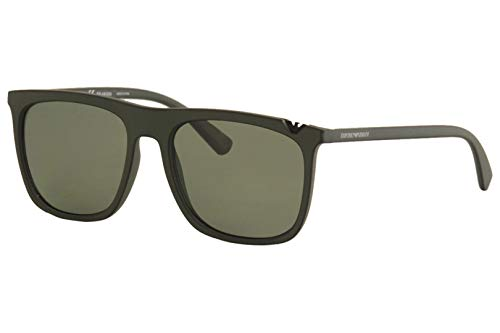 - Emporio Armani EA4095 55999A Green Black EA4095 Square Sunglasses Lens Category