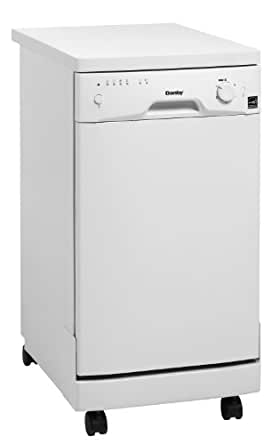 Danby DDW1899WP 8 Place Setting Portable Dishwasher - White
