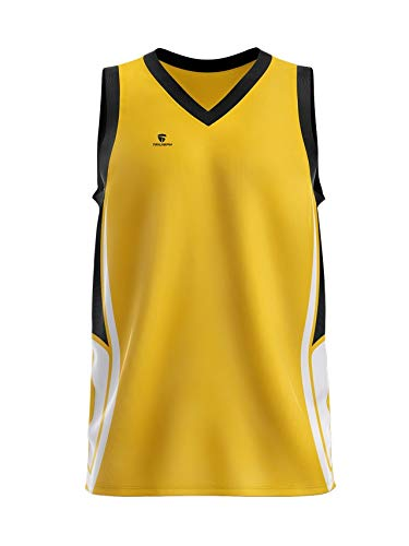 100% authentic 0cefe c7d6a Buy Triumph Men's Polyester Sublimated Basketball Jersey ...